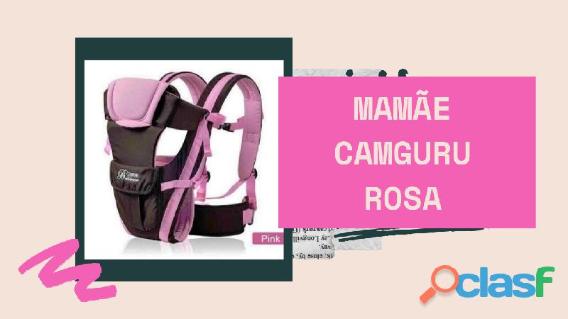Mochila para carregar seu nenê com total segurança estilo canguru 4