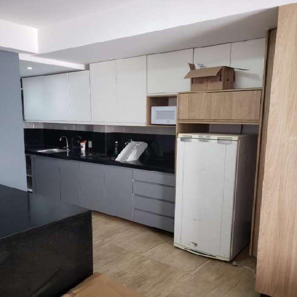 Apartamento para aluguel possui 28 metros quadrados com 1