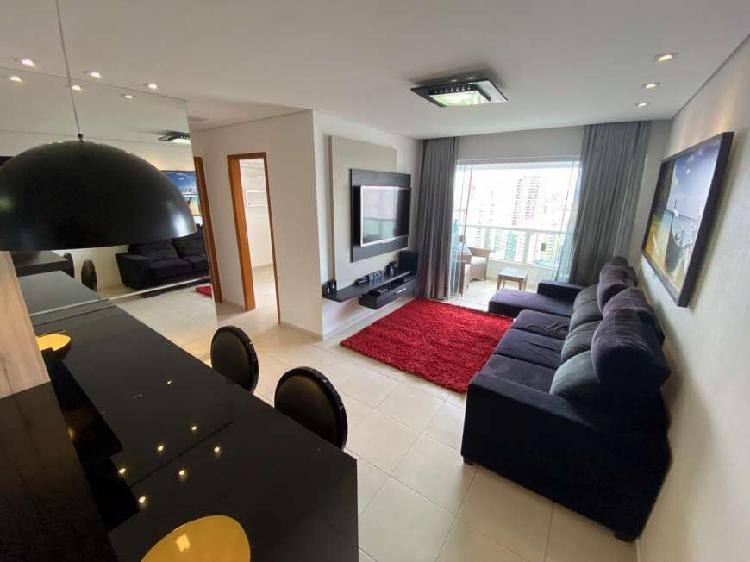 Apartamento para aluguel possui 68 metros quadrados com 2