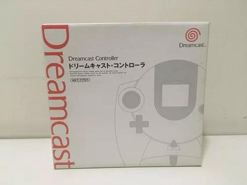 Controle original sega dreamcast hkt-7701 jap novo lacrado