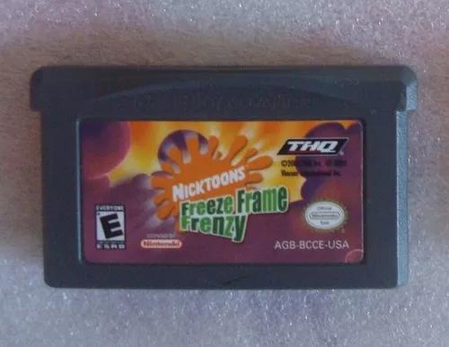 Freeze frame frenzy game boy advance gba jogo fita original