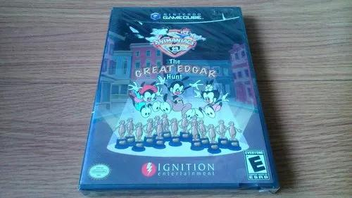 Game cube - animaniacs the great edgar hunting - lacrado