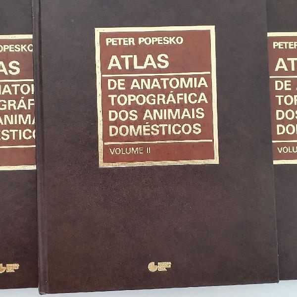 Livro de anatomia topográfica dos animais domésticos