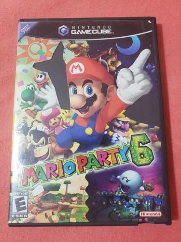 Mario party 6 nintendo game cube gamecube completo