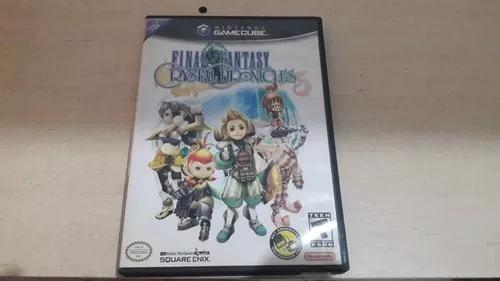Original nintendo game cube final fantasy crystal chronicles