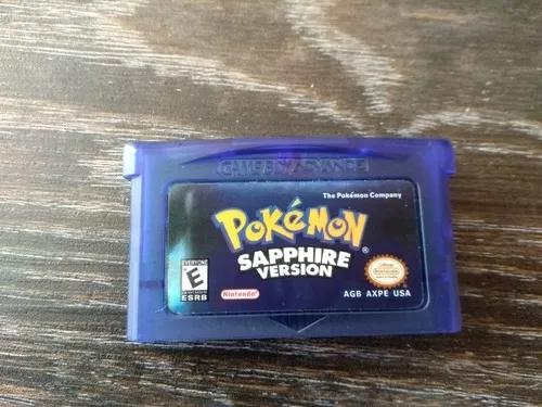 Pokémon sapphire - game boy advance
