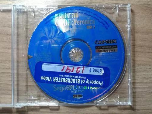 Resident evil code veronica original disco 2