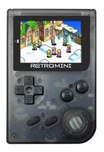 Retro mini com jogos game boy advance snes mega drive nes