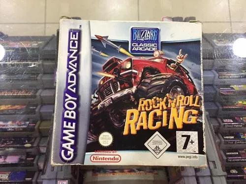 Rock n roll racing - original game boy advance jogo usado