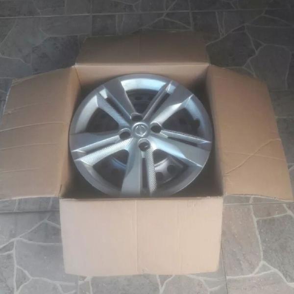 Roda ferro kicks aro 16* produto original nissan