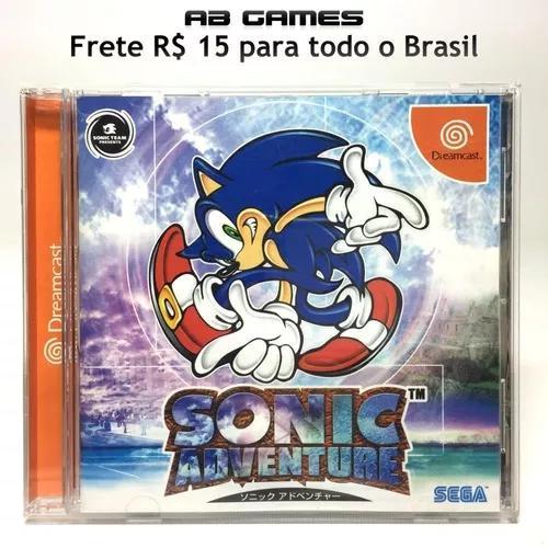 Sonic adventure japonês dreamcast