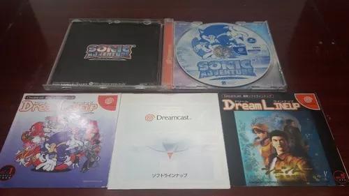 Sonic adventure japonês perfeito completo - sega dreamcast