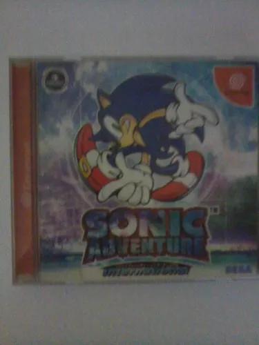 Sonic adventure original japonês para dreamcast + brinde