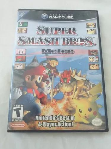 Super smash bros melee game cube original campinas