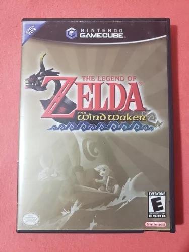 The legend of zelda windwalker nintendo game cube gamecube