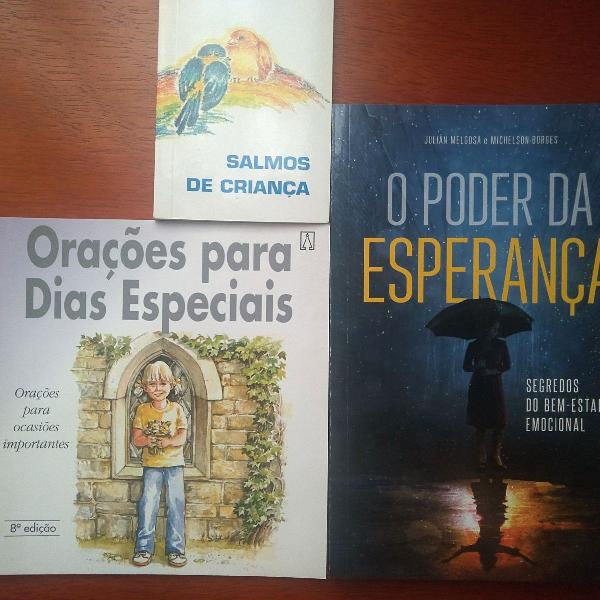 Kit livros religiosos