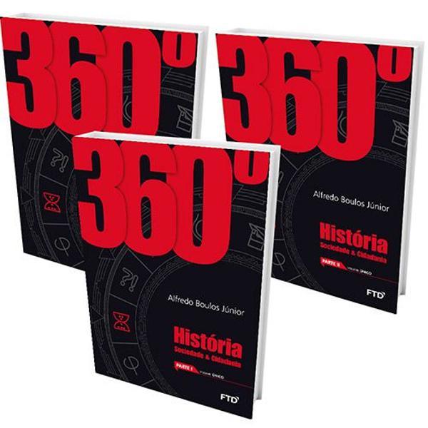 Livro - 360° - história, sociedade & cidadania - vol.