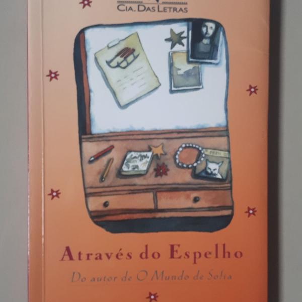 Livro através do espelho do autor de o mundo de sofia