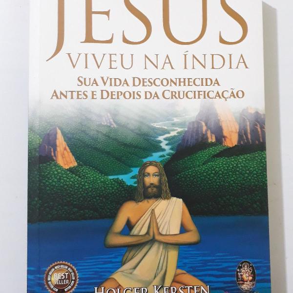 Livro jesus viveu na índia