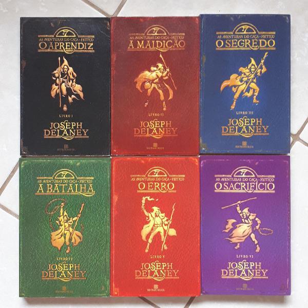 Livros as aventuras do caça feitiço (i - vi)