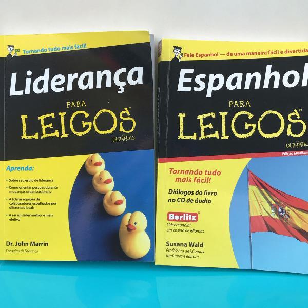 Livros de leigos da liderança e leigos do espanhol ( este