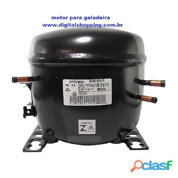 Motor compressor de geladeira de 1/4 digitalshopping.com.br