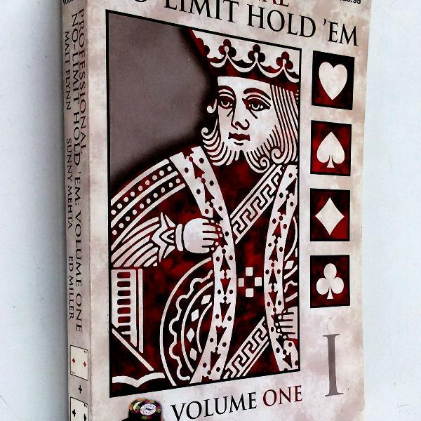 Professional no limit hold em - volume one - first edition