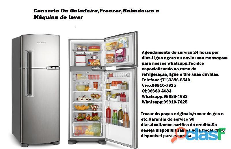 Técnico especializando no ramo da refrigeração e freezer