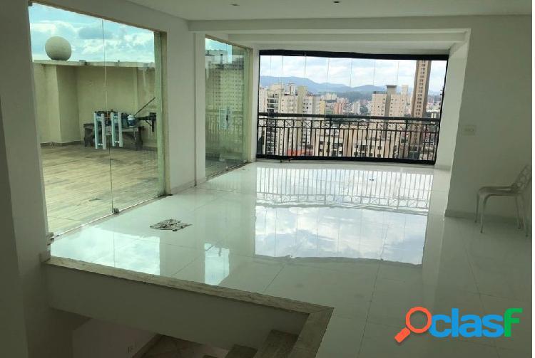 Maravilhosa cobertura, nova, 3 suites sendo 1 master - waldorf santana