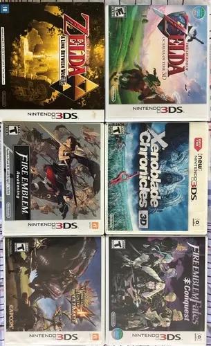 6 jogos nintendo 3ds