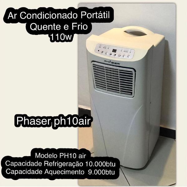 Ar condicionado portátil phaser 10.000 btu frio