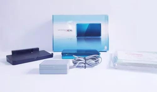 Console nintendo 3ds aqua blue 3,5