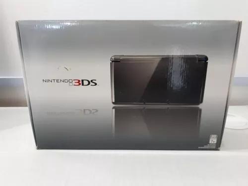 Console Nintendo 3ds Original Usado Completo Cosmo Black