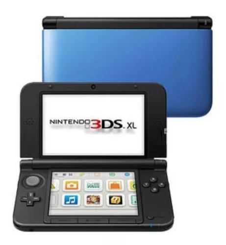 Console nintendo 3ds xl azul/preto azul
