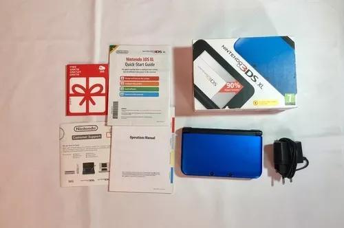 Console nintendo 3ds xl - com caixa, carregador e ar
