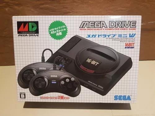 Mega drive mini original japones! 42 jogos na m