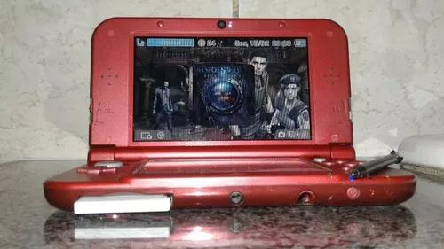 New nintendo 3ds red lindo+jogos e th