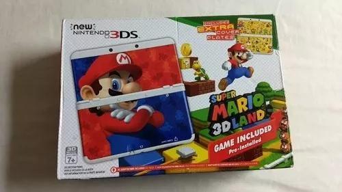 New nintendo 3ds versão mario 3d land novinho