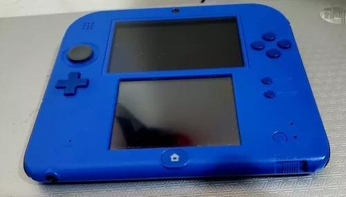 Nintendo 2ds 64g desbloqueado + 100 jogos 3ds a escolha