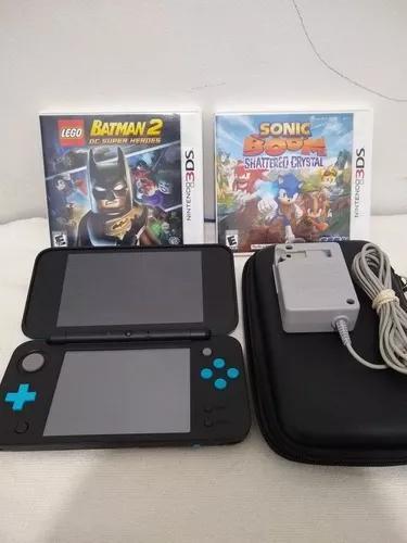 Nintendo 2ds xl + jogos originais