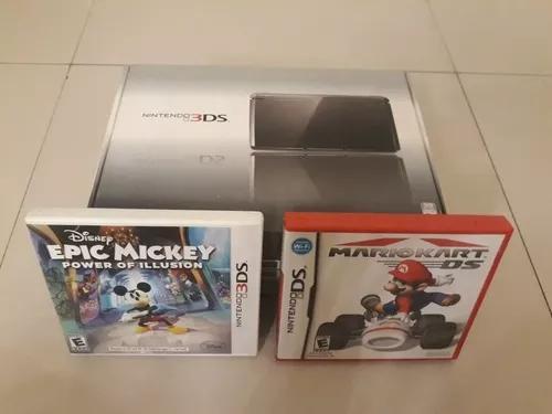 Nintendo 3ds + 2 jogos