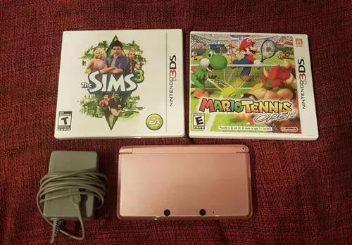 Nintendo 3ds + 2 jogos! - confira!