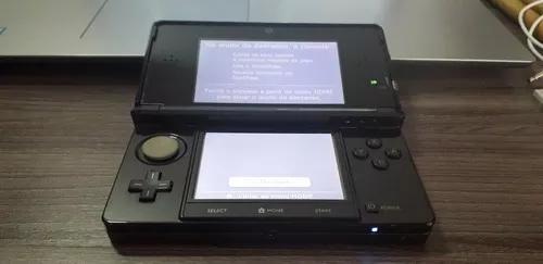 Nintendo 3ds 32gb desbloqueado com jogos