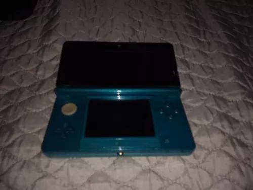 Nintendo 3ds azul d'água