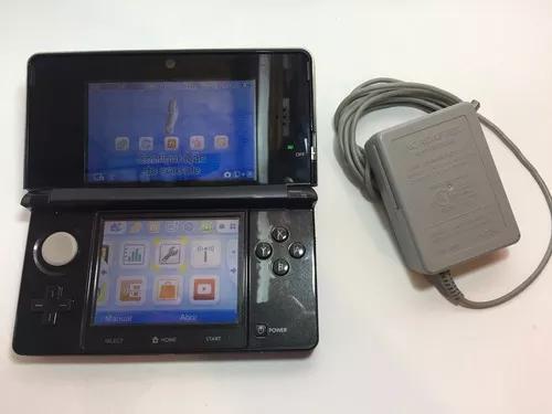 Nintendo 3ds black completo
