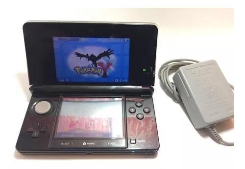 Nintendo 3ds black completo desbloqueado com varios jogos