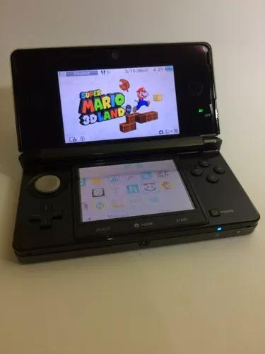 Nintendo 3ds - black / preto