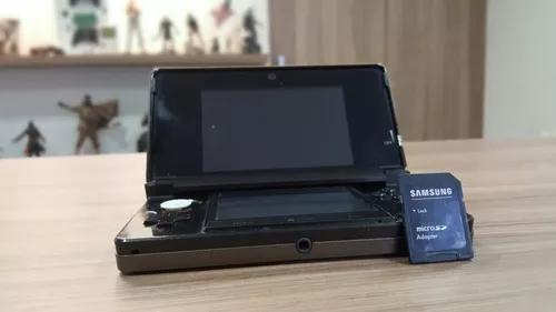Nintendo 3ds + cartão 8gb com jogos - original