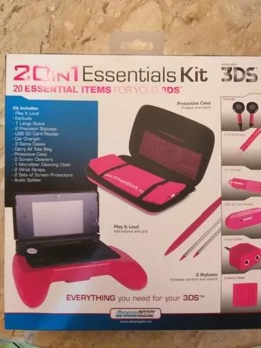 Nintendo 3ds com kit