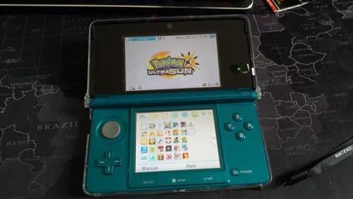 Nintendo 3ds completo com cartao de 64gb